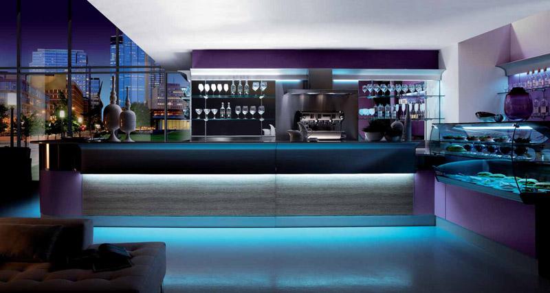Arredamento bar esterno set tavolo sedie grigio poly for Arredamento da esterno per bar