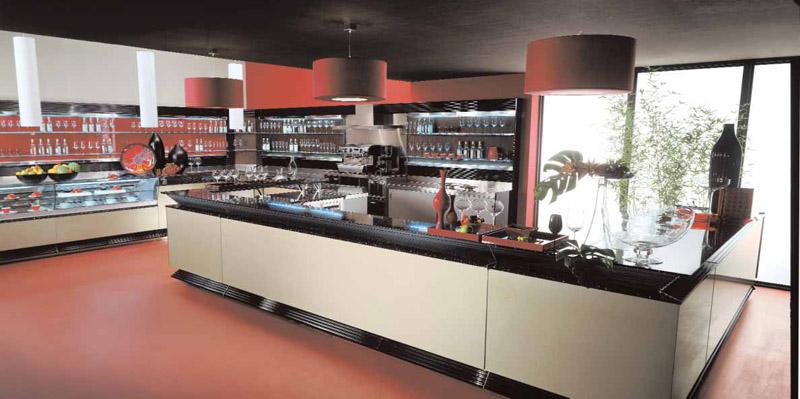 Arredamento per bar linea arredo bar arredamenti e for Arredamento wine bar