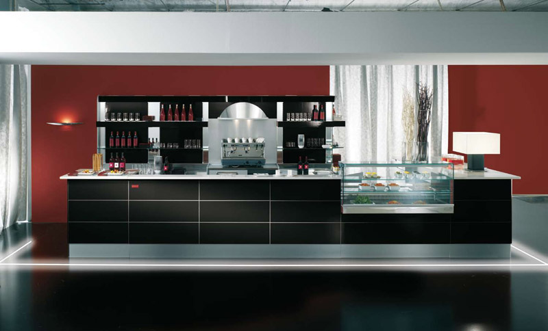 Arredamento per bar linea arredo bar arredamenti e for Arredamento alimentari usato
