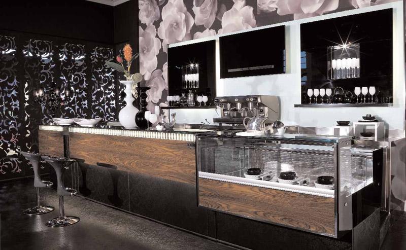 Arredamento per bar linea arredo bar arredamenti e for Bar arredamento