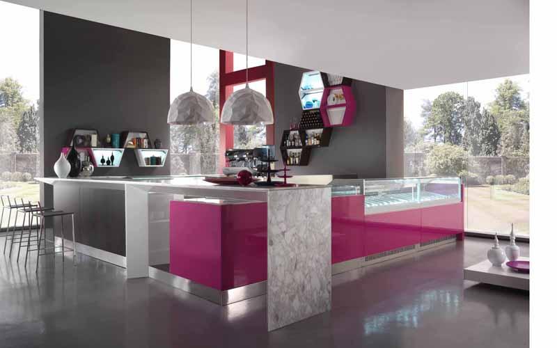 Arredamento per wine bar linea arredo wine bar for Distribuzione italiana arredamenti