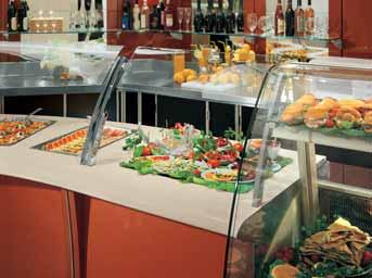 Arredamento per ristorazione self service linea arredo for Arredamento ristorazione