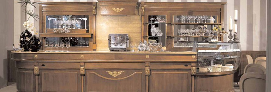 Arredamento per bar linea arredo bar arredamenti e for Arredo bar usato
