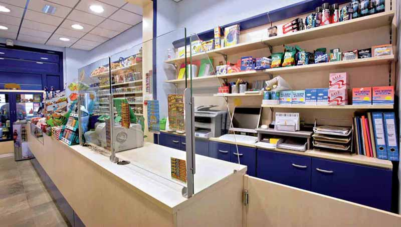 Arredamento per cartoleria linea arredo cartoleria for Arredamento edicola
