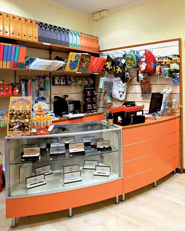 Arredamento per cartoleria linea arredo cartoleria for Arredamento bar tabacchi usato