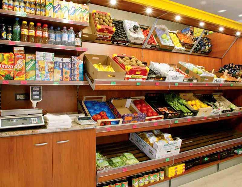 Arredamento per negozio alimentari linea arredo alimentari