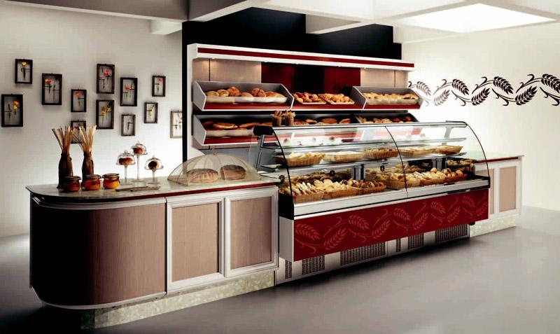 Arredamento per panetteria linea arredo panetteria for Arredamento per fast food