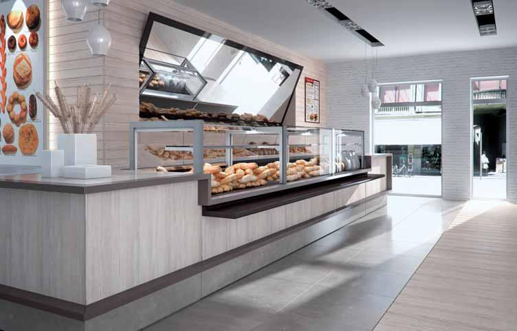 Arredamento per panetteria linea arredo panetteria for Arredamento alimentari usato