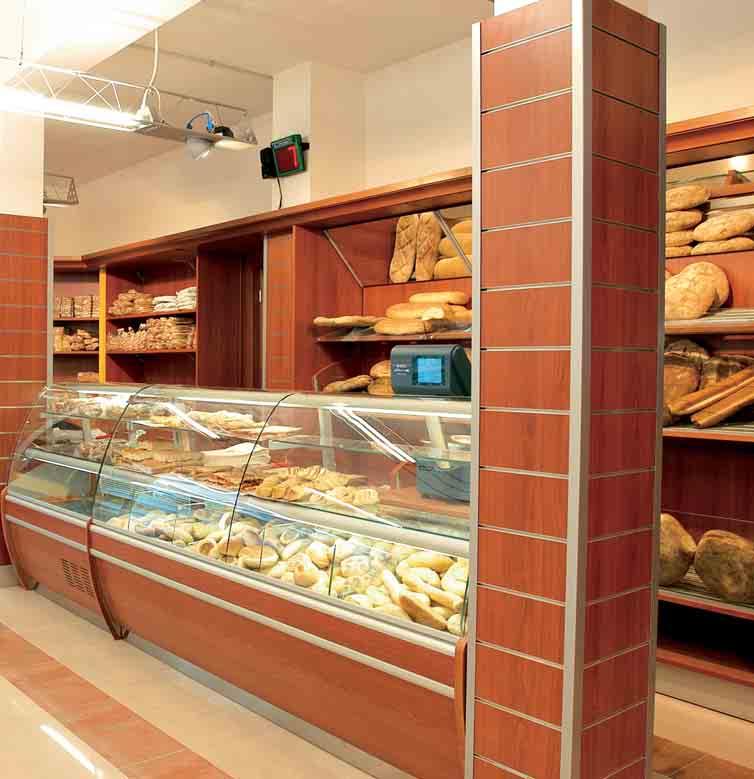 Arredamento per panetteria linea arredo panetteria for Arredamenti e attrezzature per la ristorazione