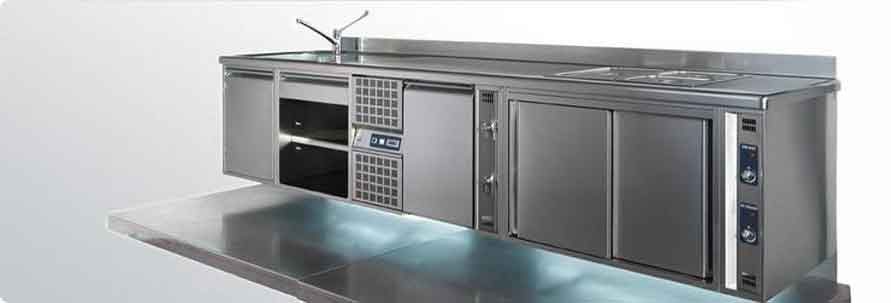 Forno pizza elettrico tk 2 camere frontale inox for Arredamenti e attrezzature per la ristorazione