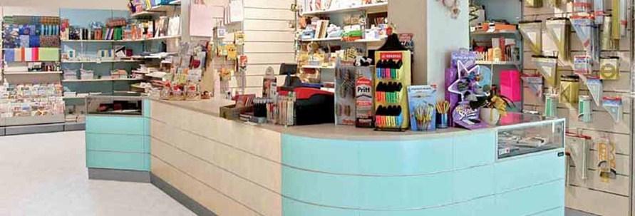 Arredamento per cartoleria linea arredo cartoleria for Arredamenti e attrezzature per la ristorazione