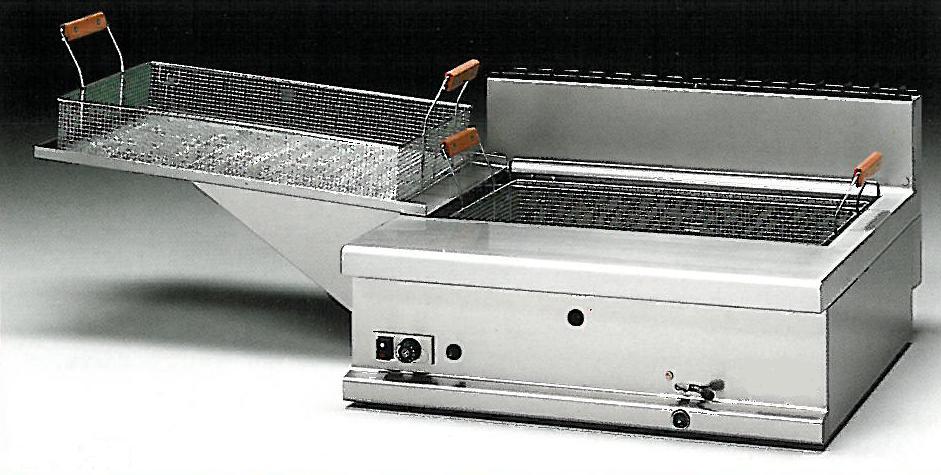 friggitrice a gas da pasticceria 20 litri arredamenti e