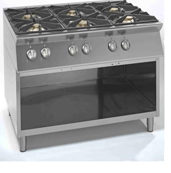 Cucina 6 fuochi idee per la casa for Cucina 6 fuochi zanussi usata