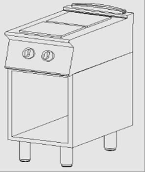 Cucina elettrica 2 piastre a giorno arredamenti e - Cucine con piastre elettriche ...