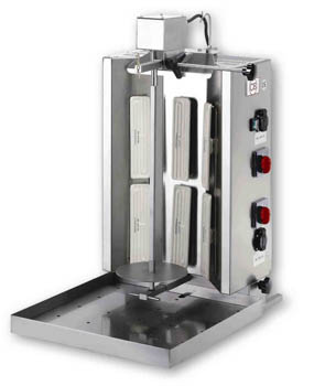 Gyros elettrico 6 resistenze arredamenti e attrezzature for Arredamenti e attrezzature per la ristorazione