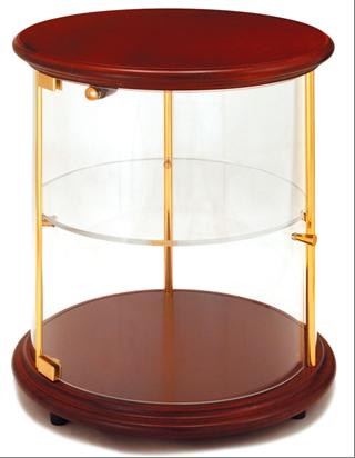 Rondo legno serie 35 2 piani oro lucido arredamenti e for Arredamenti e attrezzature per la ristorazione